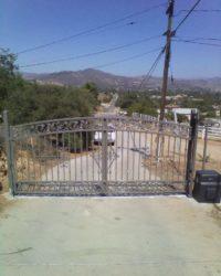 American iron driveway
