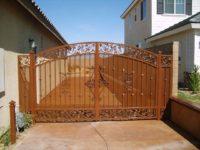 backyard access gate