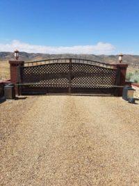 property automatic gate